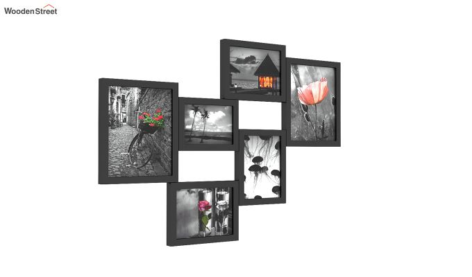 Steppe Frame Collage (Black Finish)-3