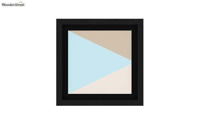Sugar Pastel Floater Framed Wall Art 2 (Set of 2) (Black Finish)-2