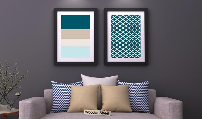 Sugar Pastel Framed Wall Art 1 (Set of 2)-1