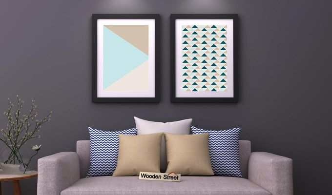 Sugar Pastel Framed Wall Art 2 (Set of 2)-1