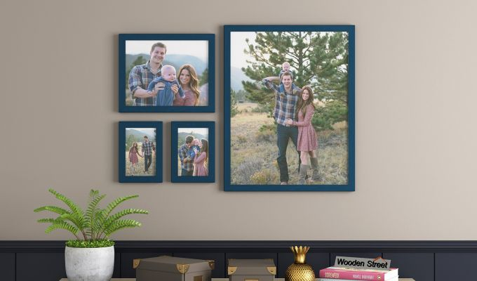 Beat Photo Collage (Dark Blue Finish) (Dark Blue Finish)-1