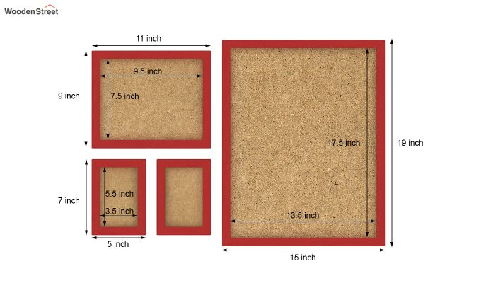 Beat Photo Collage (Red Finish) (Red Finish)-3