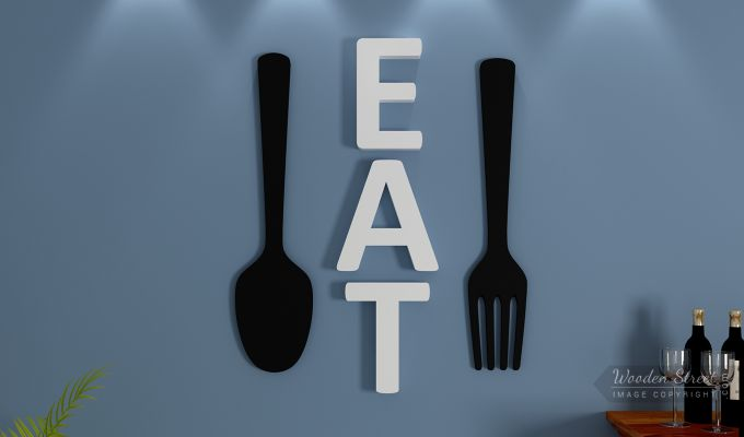 Cutlery Eat Wall Decor-1