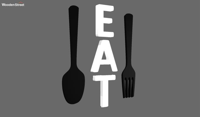 Cutlery Eat Wall Decor-3