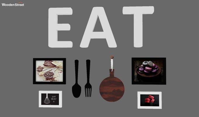 Eatery Photo Collage (Black Finish)-1