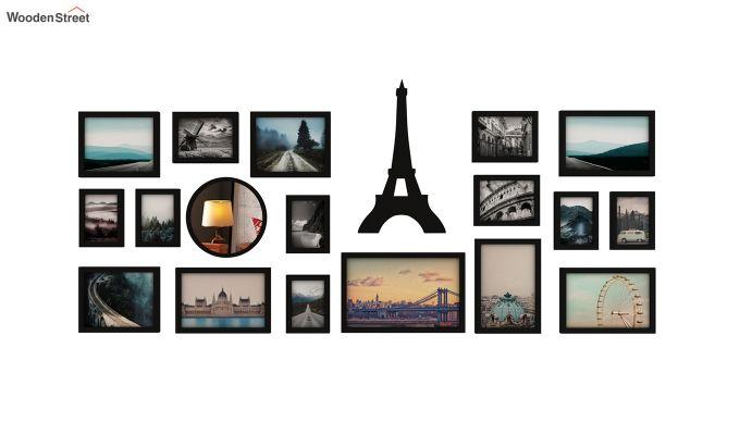 Eiffel Photo Collage (Black Finish)-2