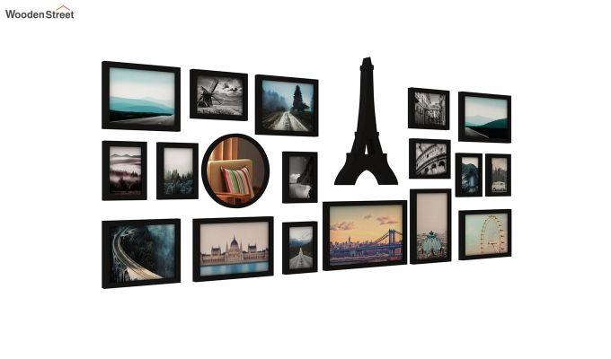 Eiffel Photo Collage (Black Finish)-3