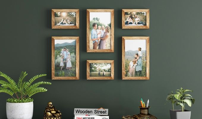 Equis Photo Collage (Mango - Natural) (Natural Finish)-1