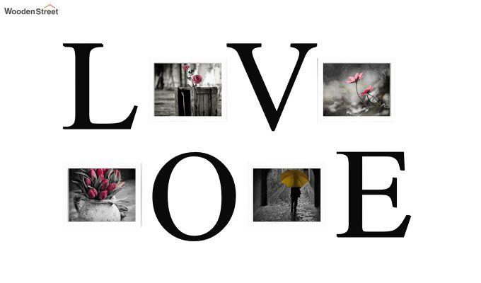 Love Photo Collage (Black Finish)-2