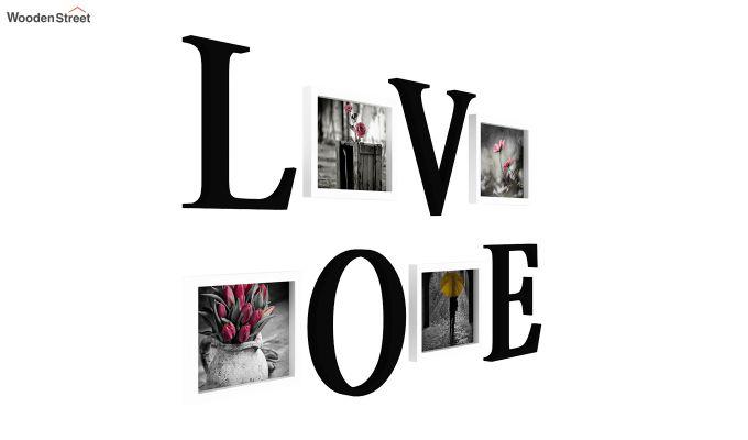 Love Photo Collage (Black Finish)-3