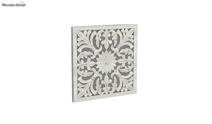 Marie Wall Panel without Glass (White Finish, 16 x 16)-2