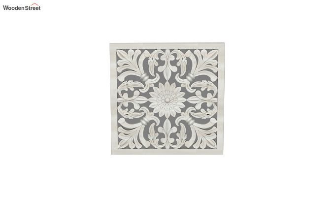 Marie Wall Panel without Glass (White Finish, 16 x 16)-3