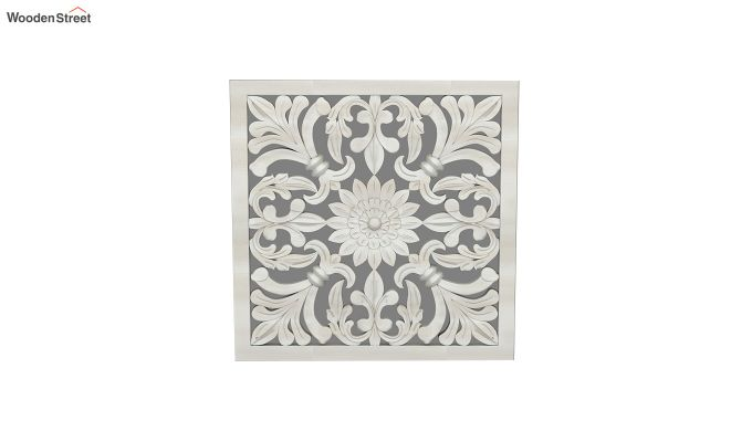 Marie Wall Panel without Glass (White Finish, 24 x 24)-3