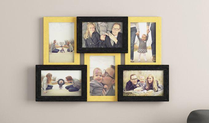 Nate Photo Collage (Yellow - Black Finish) (Yellow Finish)-1