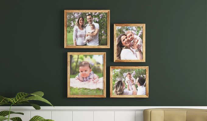 Spectra Frame Collage (Natural Finish) (Natural Finish)-1