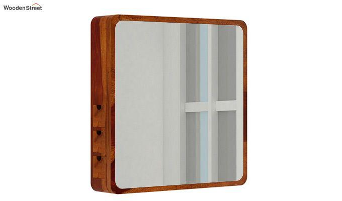 Augus Mirror Side Storage (Honey Finish)-1