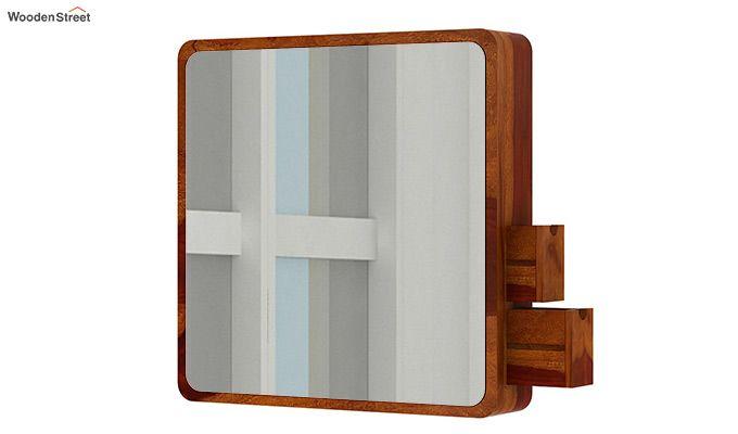 Augus Mirror Side Storage (Honey Finish)-4