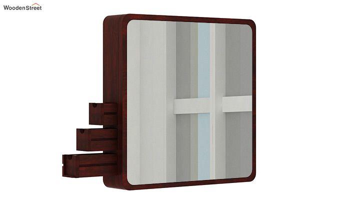 Augus Mirror Side Storage (Mahogany Finish)-4