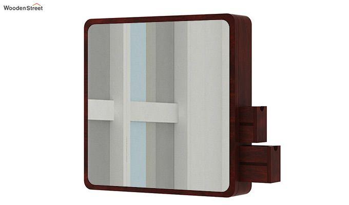 Augus Mirror Side Storage (Mahogany Finish)-5