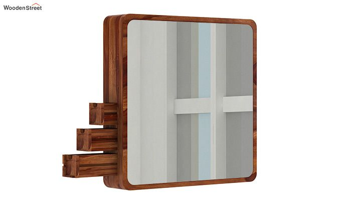 Augus Mirror Side Storage (Teak Finish)-3