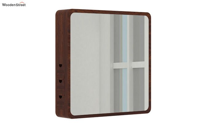 Augus Mirror Side Storage (Walnut Finish)-1
