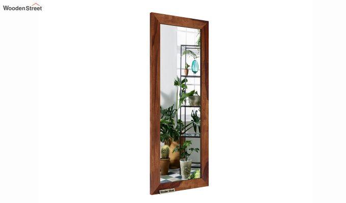 Cali Tall Mirror With Frame (Teak Finish)-2