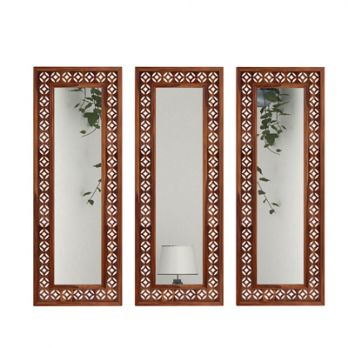 wooden mirror frames designs
