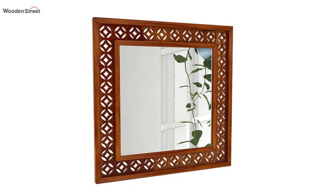 Cambrey Mirror With Frame (Honey Finish)-2
