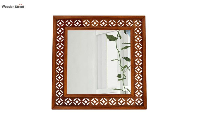 Cambrey Mirror With Frame (Honey Finish)-3