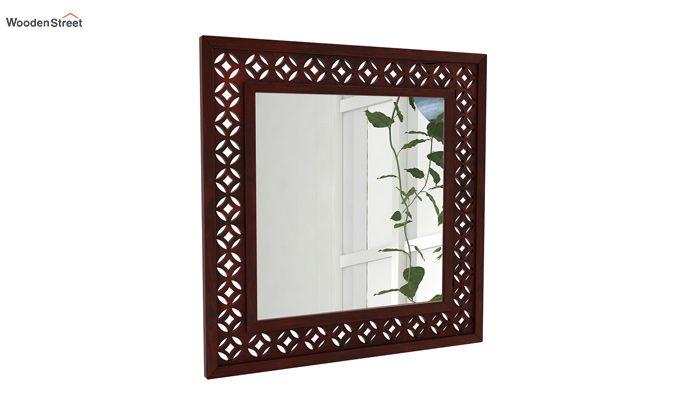 Cambrey Mirror With Frame (Mahogany Finish)-1