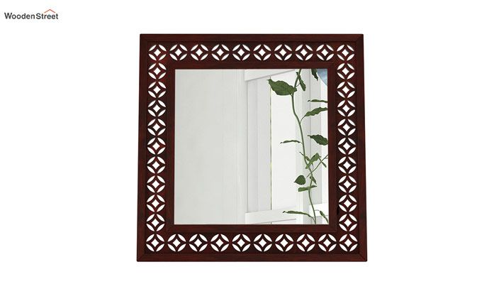 Cambrey Mirror With Frame (Mahogany Finish)-2