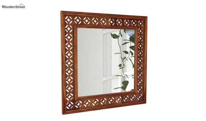 Cambrey Mirror With Frame (Teak Finish)-1