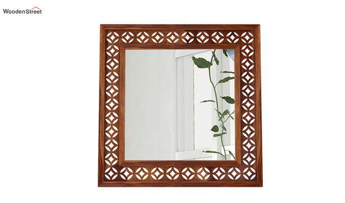 Cambrey Mirror With Frame (Teak Finish)-2