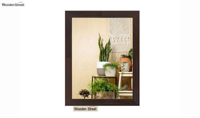 Connor Mirror With Frame (Mahogany Finish) (Mahogany Finish)-3