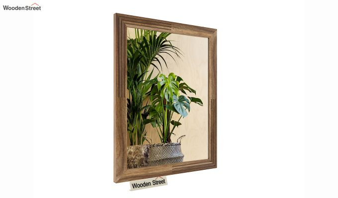Connor Mirror With Frame (Natural Finish) (Natural Finish)-3