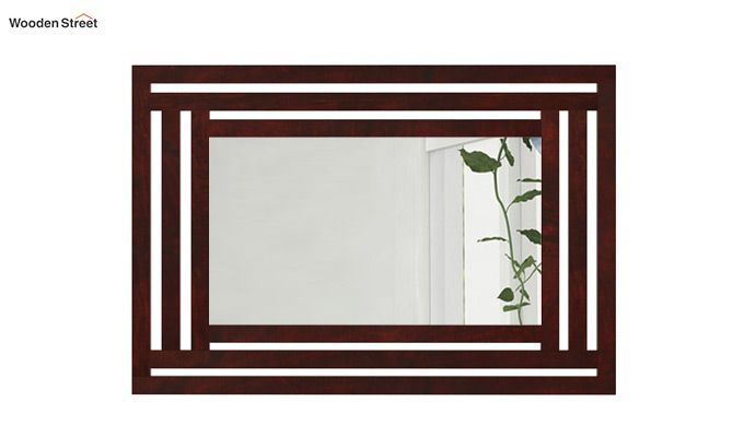 Douglas Mirror With Frame (Mahogany Finish)-2