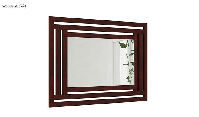 Douglas Mirror With Frame (Mahogany Finish)-3