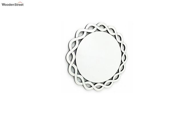 Glass Round Framed Wall Mirror-2