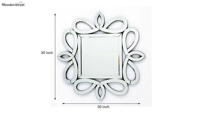 Glass Square Decorative Wall Mirror-3