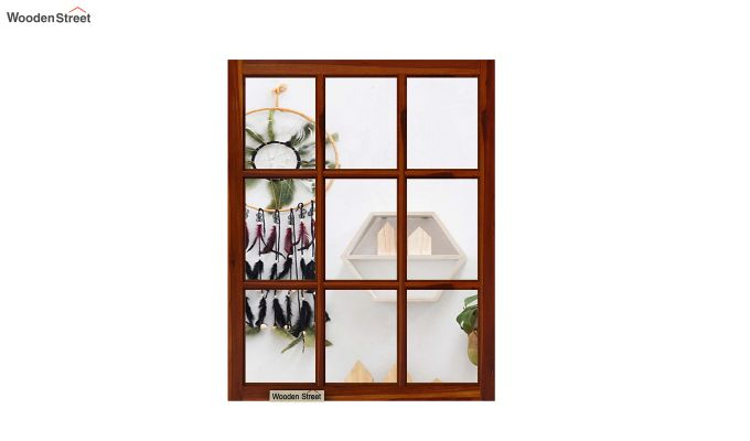 Lucas Mirror With Frame (Honey Finish)-3