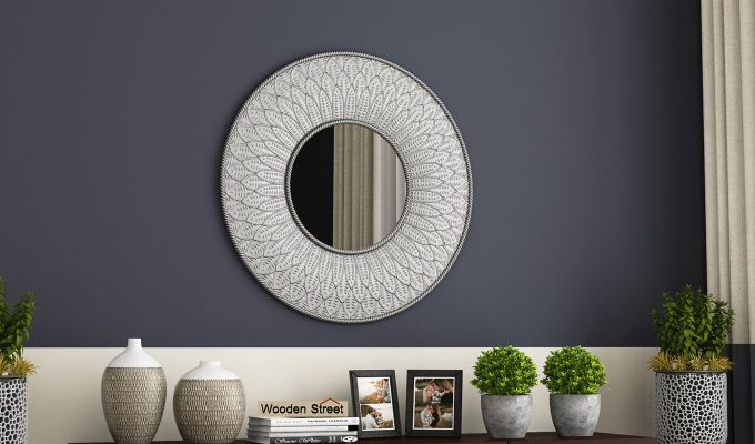 Marie Metal Mirror with Frame-1