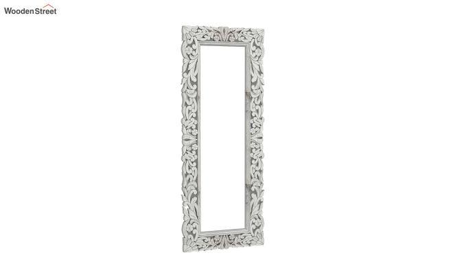 Meadow Mirror With Frame (White Distress)-2