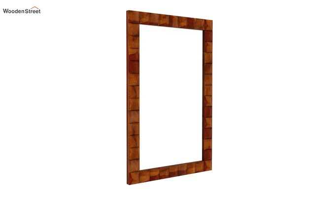 Morse Mirror With Frame (Honey Finish)-2