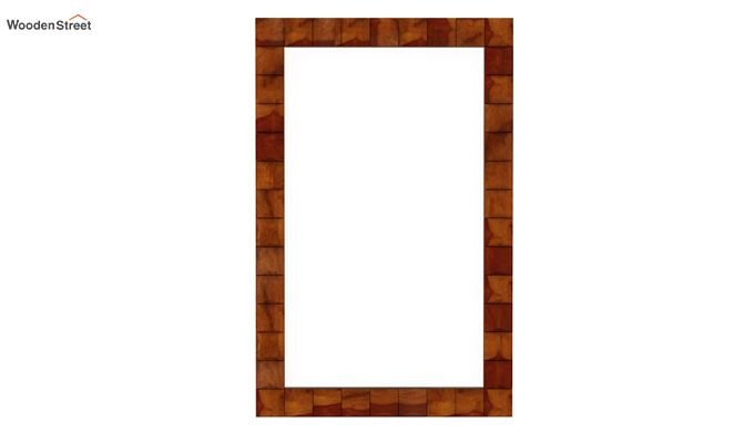 Morse Mirror With Frame (Honey Finish)-3