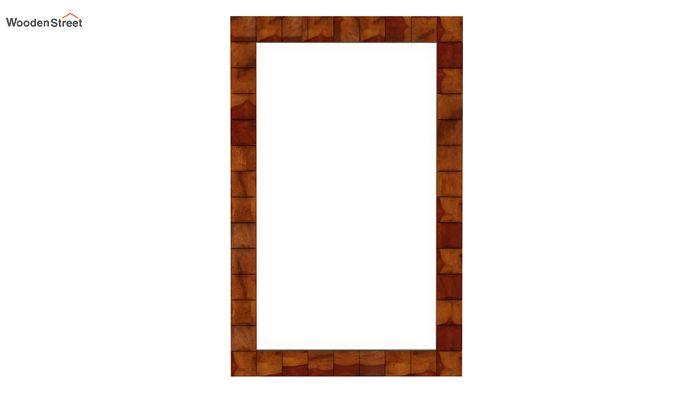 Morse Mirror With Frame (Honey Finish)-3