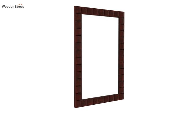 Morse Mirror With Frame (Mahogany Finish)-1