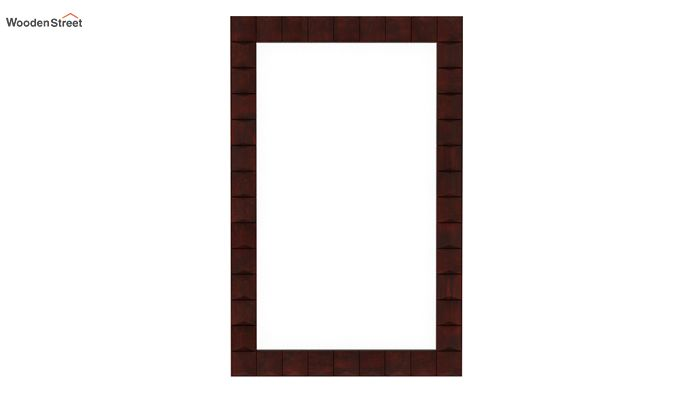 Morse Mirror With Frame (Mahogany Finish)-2