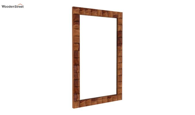 Morse Mirror With Frame (Teak Finish)-1