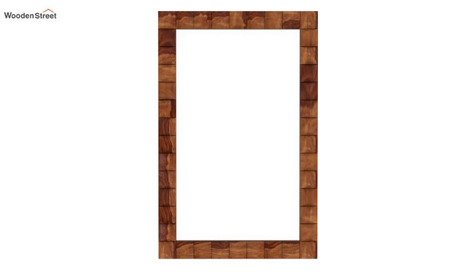 Morse Mirror With Frame (Teak Finish)-2