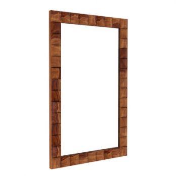 Morse Mirror With Frame (Teak Finish)